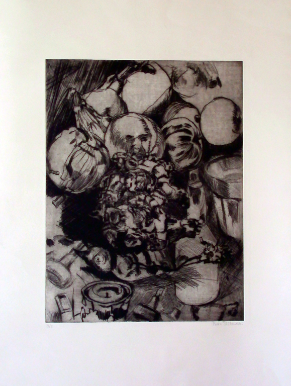 Still Life Etching